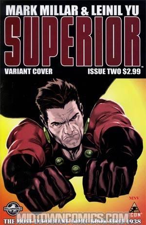 Superior #2 Incentive Steve McNiven Variant Cover