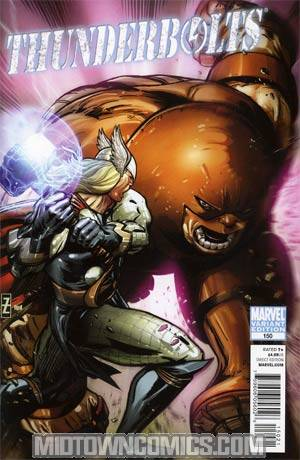 Thunderbolts #150 Incentive Patrick Zircher Variant Cover