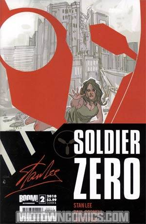 Stan Lees Soldier Zero #2 Cover B Phil Noto