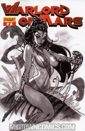 Warlord Of Mars #2 Incentive J Scott Campbell Sketch Cover