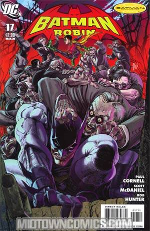 Batman And Robin #17 Cover A Regular Guillem March Cover