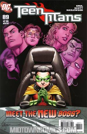 Teen Titans Vol 3 #89 Regular Nicola Scott Cover