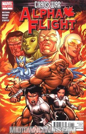 Chaos War Alpha Flight #1