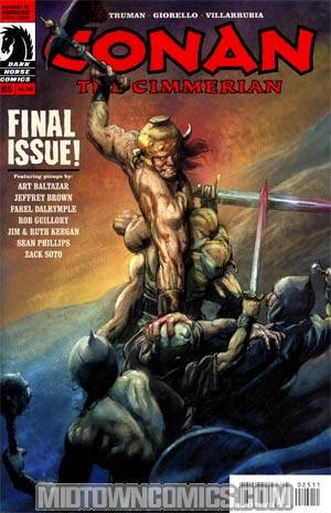 Conan The Cimmerian #25 Cary Nord Cover