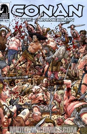 Conan The Cimmerian #25 Geof Darrow Variant Cover