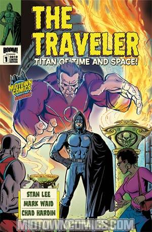 Stan Lees The Traveler #1  Midtown Exclusive Paul Rivoche Homage Variant Cover