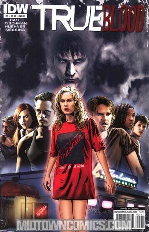 True Blood #5 Regular Cover B