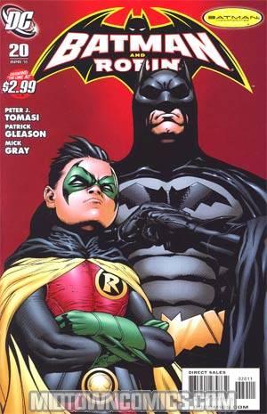 Batman And Robin #20 Cover A Regular Patrick Gleason Cover