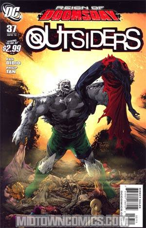 Outsiders Vol 4 #37 (Reign Of Doomsday Tie-In)