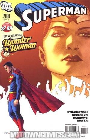 Superman Vol 3 #708 Regular John Cassaday Cover