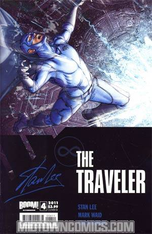 Stan Lees The Traveler #4 Cover B Chad Hardin