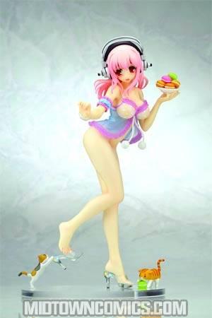 Creators Labo #28 Super Sonico Baby Doll PVC Figure