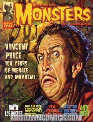 DO NOT USE (DUPLICATE LISTING) Famous Monsters Of Filmland #254 Mar/Apr 2011 Previews Exclusive Regular Jason Edmiston Cover