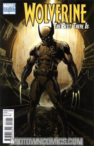 Wolverine The Best There Is #1 Cover C Incentive Phil Jimenez Variant Cover