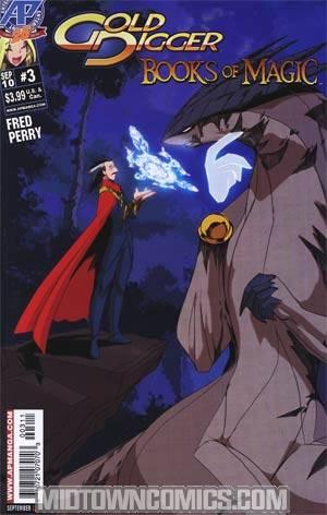 Gold Digger Books Of Magic #3