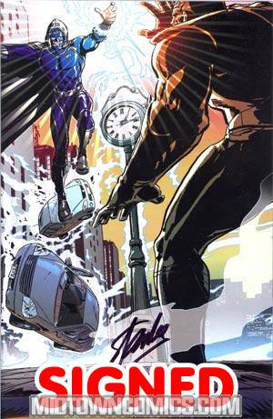Stan Lees The Traveler #1 Cover G Incentive Paul Rivoche Variant Cover Signed By Stan Lee