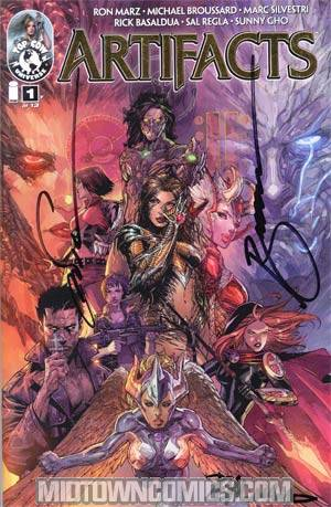 Artifacts #1 Collectors Edition Signed & Numbered Version