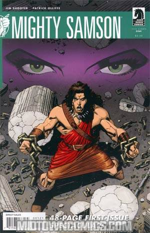 Mighty Samson Vol 2 #1 Incentive Patrick Olliffe Variant Cover