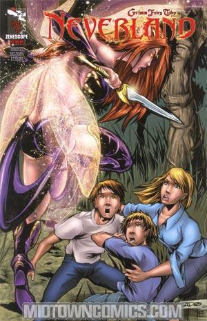 Grimm Fairy Tales Presents Neverland #6 Cover B Jean Paul Deshong
