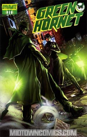 Kevin Smiths Green Hornet #11 Cover C Regular Jonathan Lau Cover