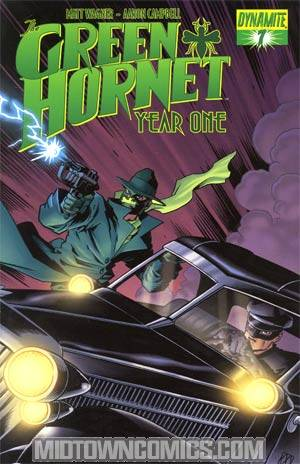 Green Hornet Year One #7 Cover A Regular Matt Wagner Cover