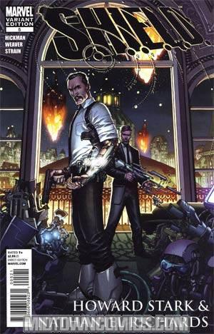 S.H.I.E.L.D. Vol 2 #5 Incentive Dustin Weaver Historical Variant Cover