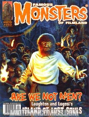 DO NOT USE (DUPLICATE LISTING) Famous Monsters Of Filmland #253 Dec 2010 Previews Exclusive Edition