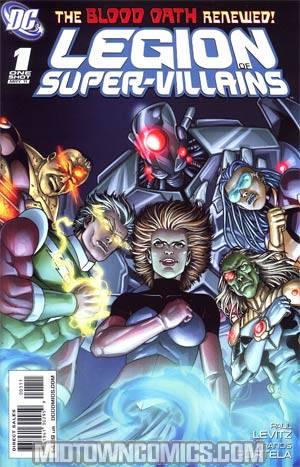 Legion Of Super-Villains One Shot