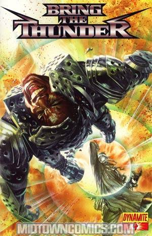 Bring The Thunder #4 Cover A Alex Ross Cover