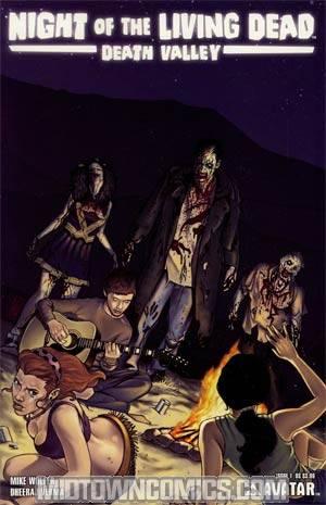 Night Of The Living Dead Death Valley #1 Reg Cvr