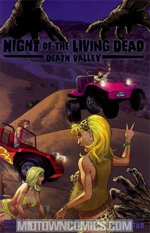 Night Of The Living Dead Death Valley #1 Wrap Cvr