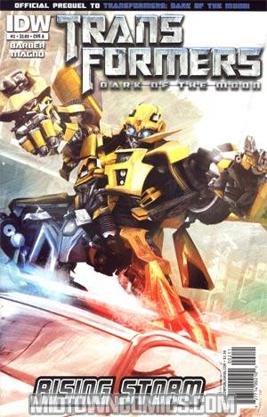Transformers Rising Storm #2 Regular Brian Rood Cover