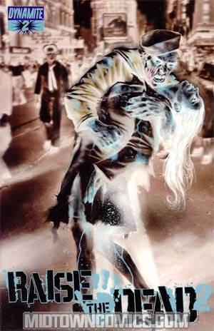 Raise The Dead II #2 Cover D Incentive Lucio Parrillo Negative Art Cover