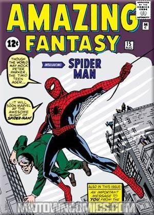 Spider-Man Cover Amazing Fantasy #15 Magnet (29916MV)