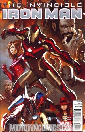 Invincible Iron Man #500 Cover C Incentive Marko Djurdjevic Variant Cover