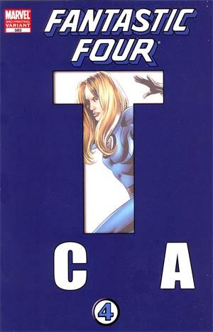 Fantastic Four Vol 3 #583 3rd Ptg Steve Epting Variant Cover