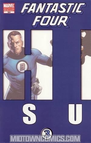 Fantastic Four Vol 3 #584 2nd Ptg Steve Epting Variant Cover