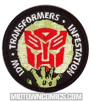 Infestation Zombified Transformers Sew On Patch