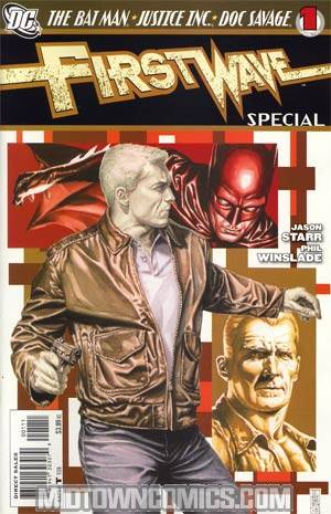 First Wave Special #1 Regular JG Jones Cover