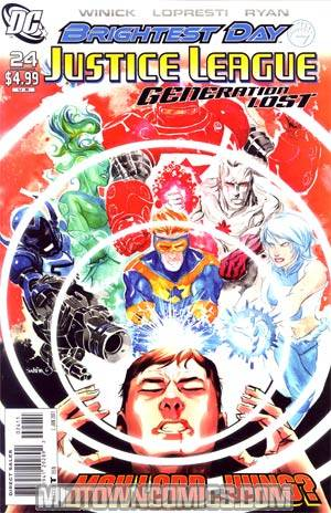 Justice League Generation Lost #24 Cover A Regular Dustin Nguyen Cover (Brightest Day Tie-In)