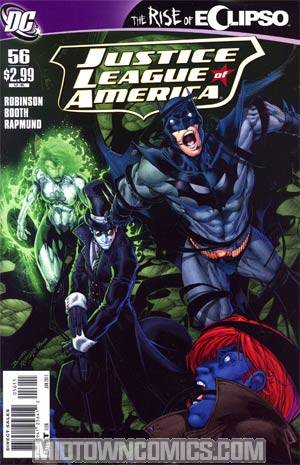 Justice League Of America Vol 2 #56 Regular Brett Booth Cover