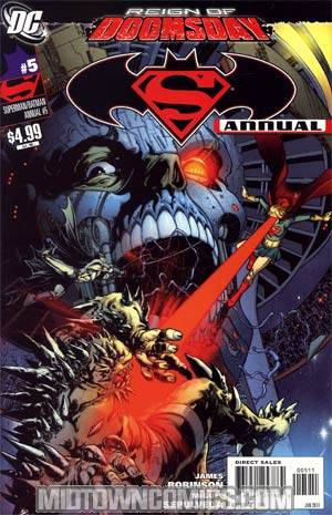Superman Batman Annual #5 (Reign Of Doomsday Tie-In)