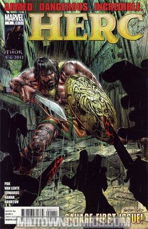 Herc #1 Cover A Regular Carlo Pagulayan Cover