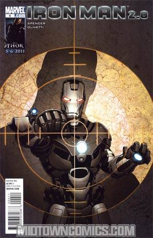 Iron Man 2.0 #4 Regular Salvador Larroca Cover