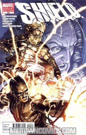 S.H.I.E.L.D. Infinity Variant Dustin Weaver Cover