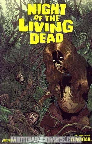 Night Of The Living Dead Annual 2011 Reg Cvr