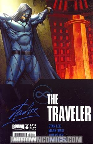 Stan Lees The Traveler #6 Cover B Chad Hardin