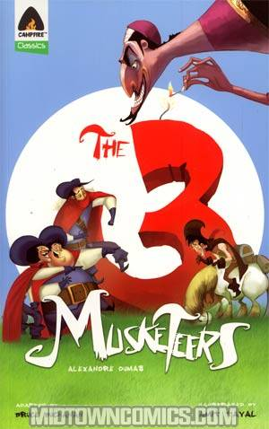 Three Musketeers TP By Campfire