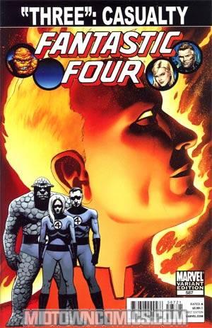 Fantastic Four Vol 3 #587 Cover C Incentive John Cassaday Spoiler Variant Cover