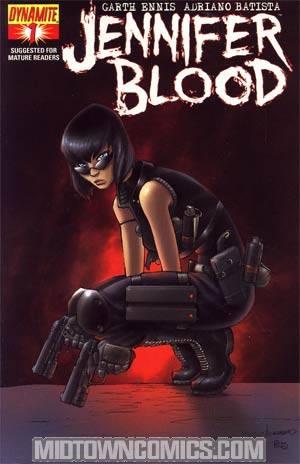 Garth Ennis Jennifer Blood #1 Regular Ale Garza Cover